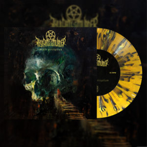 Thy Art Is Murder: Death Perception (Yellow Spatter)